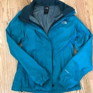 The North Face Jacket - Teal, waterproof ☔️